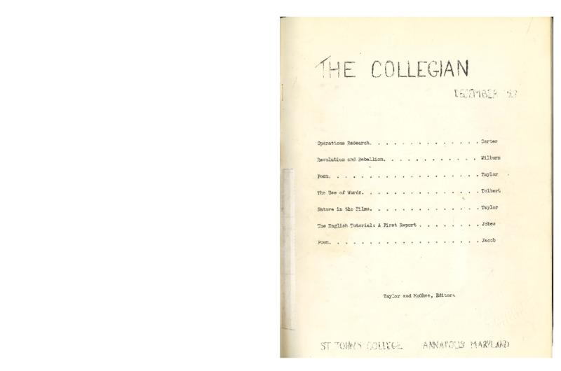 The Collegian December, 1953.pdf