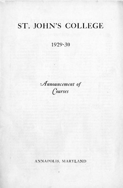 Catalogue 1929-1930 (Announcement of Courses).pdf