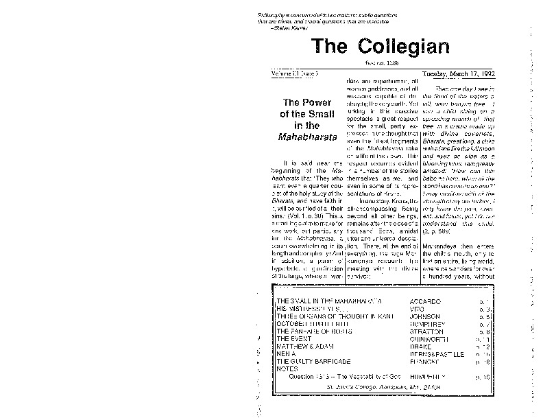 The Collegian 17 March 1992.pdf