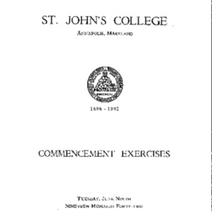 Commencement Exercises from 1942 {1942-06-09}.pdf