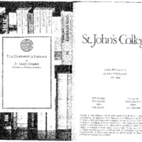 Statement of the St. John's Program 1997-1998