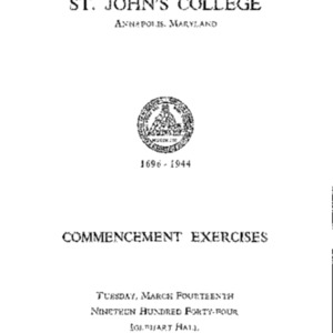 Commencement Exercises from 1944 {1944-03-14}.pdf