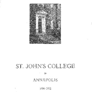 Bulletin of St. John's College in Annapolis, May 1932