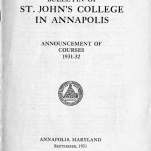 Catalogue 1931-1932 (Announcement of Courses).pdf
