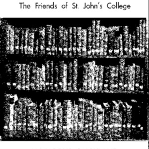 Bulletin of The Friends of St. John's College, August 1950