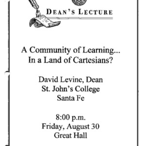 A community of learning... in a land of Cartesians?