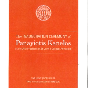 Inauguration Program for Panayiotis Kanelos (10-28-17).pdf