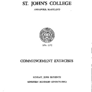 Commencement Exercises from 1972 {1972-06-11}.pdf