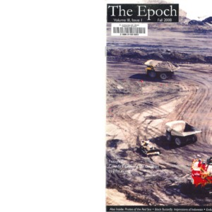 The Epoch, Vol III Issue I