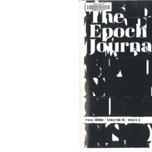 The Epoch Journal, Vol 6 Issue 1