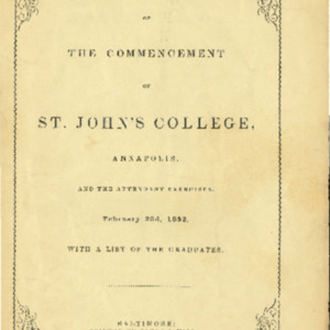 Some Account of the Commencement (with handwritten poem) 1852-02-23.pdf