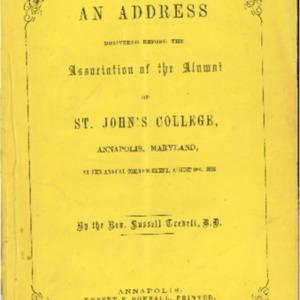 Commencement Address-Rev. Russell Trevitt, A.A. 1856-08-06.pdf