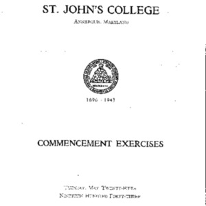 Commencement Exercises from 1943 {1943-05-25}.pdf